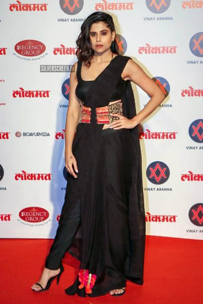 Sai Tamhankar At The Lokmat Most Stylish Awards 2018