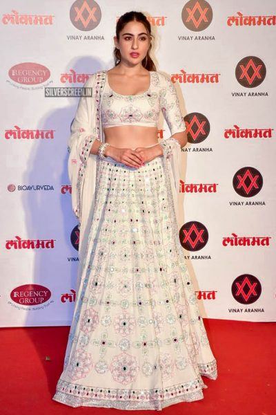 Sara Ali Khan At The Lokmat Most Stylish Awards 2018