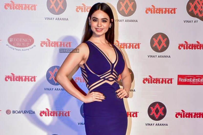 Soundarya Sharma At The Lokmat Most Stylish Awards 2018