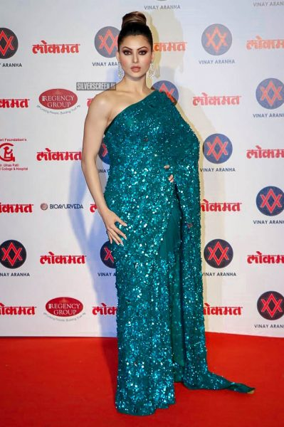 Urvashi Rautela At The Lokmat Most Stylish Awards 2018