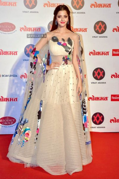 Vedhika At The Lokmat Most Stylish Awards 2018