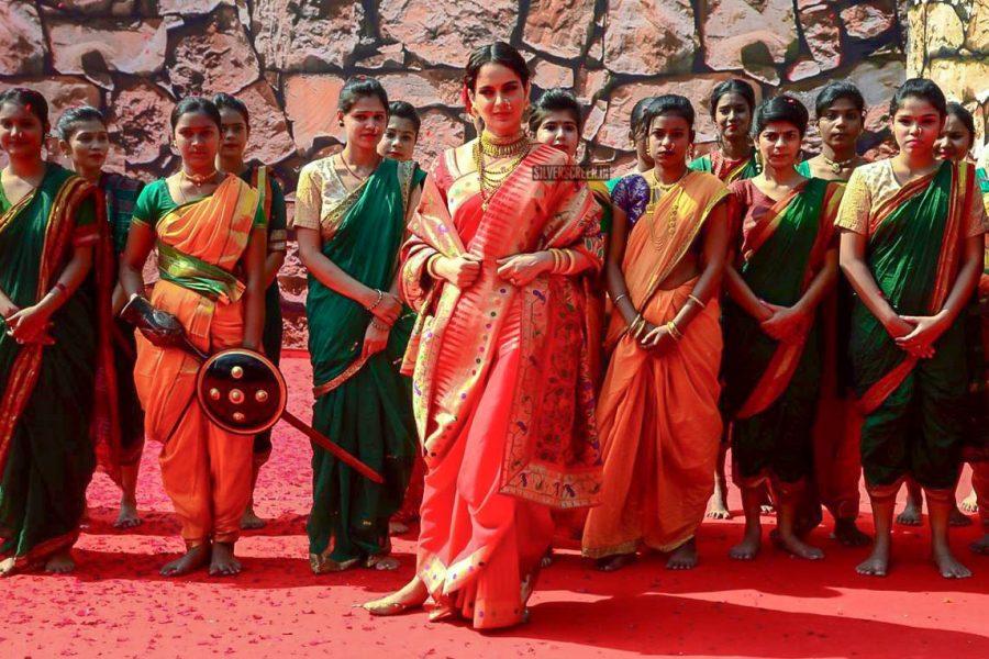 Kangana Ranaut At The 'Manikarnika – The Queen Of Jhansi' Trailer Launch