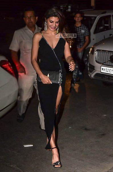 Jacqueline Fernandez At Anil Kapoor's Birthday Bash