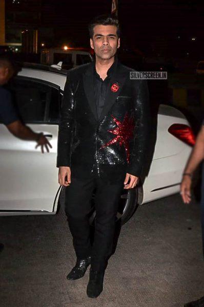 Karan Johar At Anil Kapoor's Birthday Bash