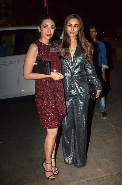 Karisma Kapoor, Malaika Arora At Anil Kapoor's Birthday Bash