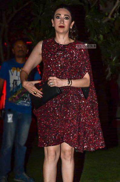 Karisma Kapoor At Anil Kapoor's Birthday Bash