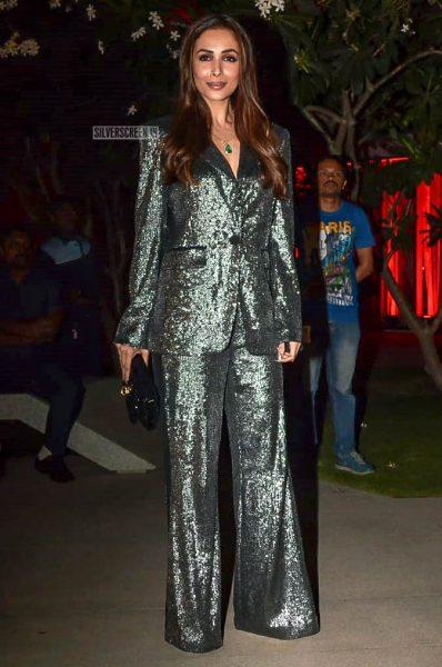 Malaika Arora Khan At Anil Kapoor's Birthday Bash