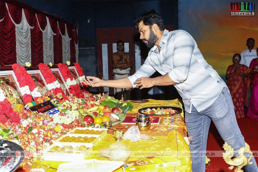 Karthi At The 'Karthi 18' Movie Launch