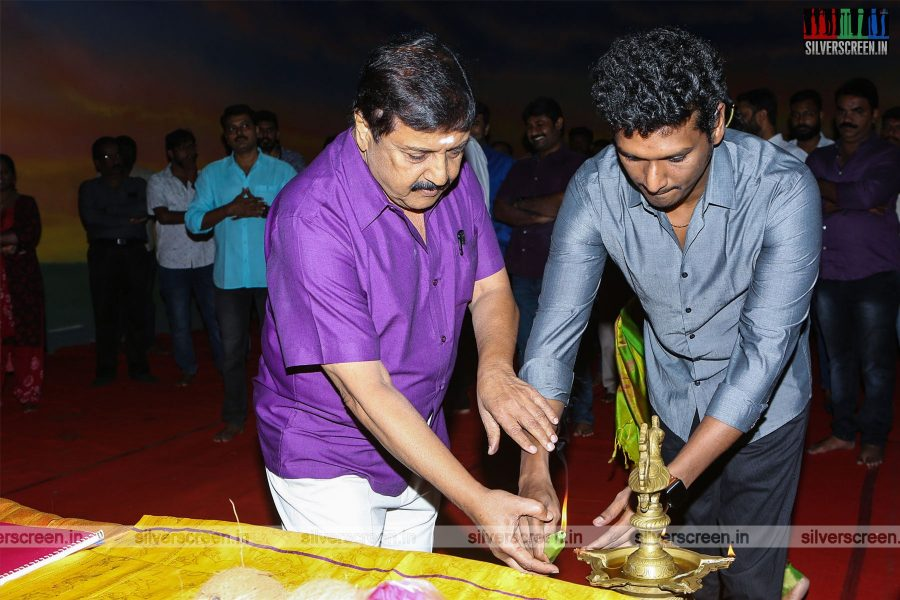 Sivakumar, Lokesh Kanagaraj At The 'Karthi 18' Movie Launch