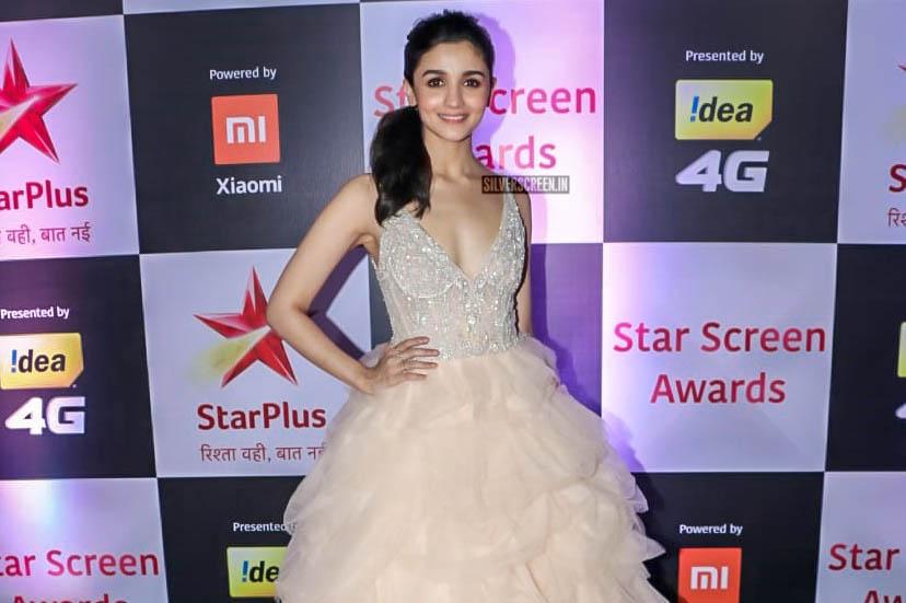 Alia Bhatt At The 'Star Screen Awards 2018'