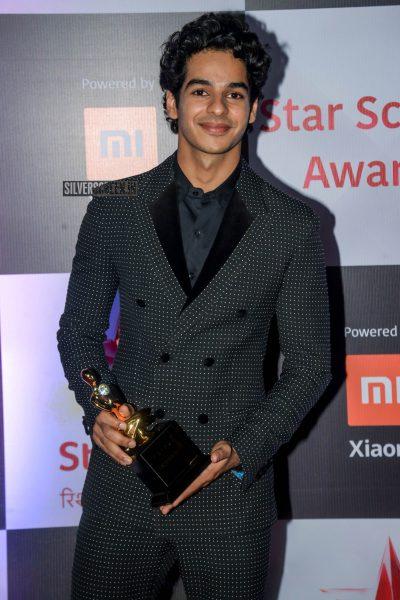 Ishaan Khattar At The 'Star Screen Awards 2018'