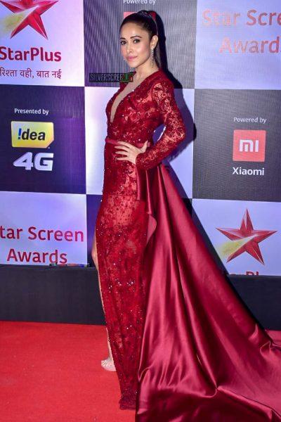 Nushrat Bharucha At The 'Star Screen Awards 2018'