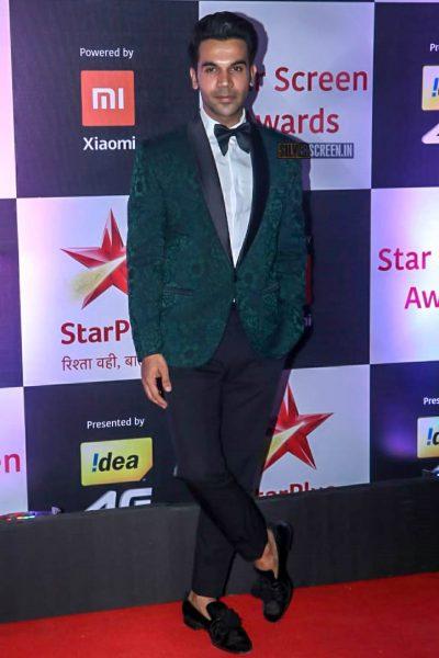 Rajkummar Rao At The 'Star Screen Awards 2018'