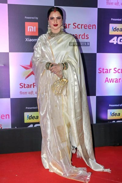 Rekha At The 'Star Screen Awards 2018'