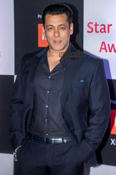 Salman Khan At The 'Star Screen Awards 2018'