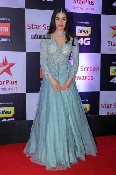 Shraddha Kapoor At The 'Star Screen Awards 2018'