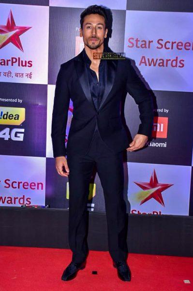 Tiger Shroff At The 'Star Screen Awards 2018'