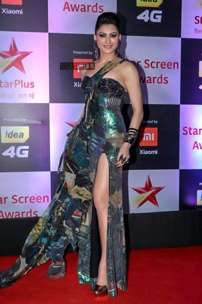 Urvashi Rautela At The 'Star Screen Awards 2018'
