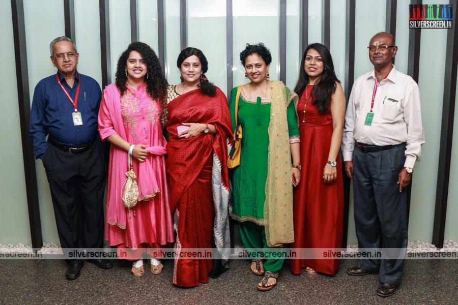 Lakshmy Ramakrishnan At The 16th Chennai International Film Festival Red Carpet