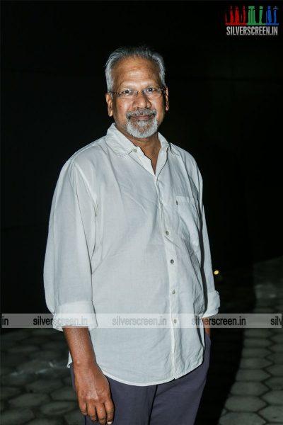 Mani Ratnam At The 16th Chennai International Film Festival Red Carpet