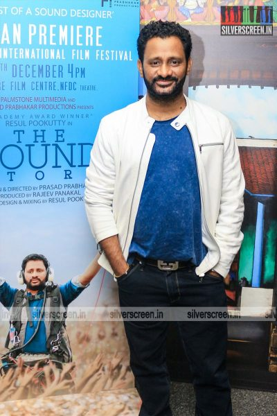 Resul Pookutty At The 16th Chennai International Film Festival Red Carpet