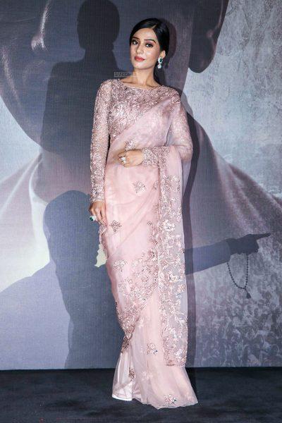 Amrita Rao At The 'Thackeray' Trailer Launch