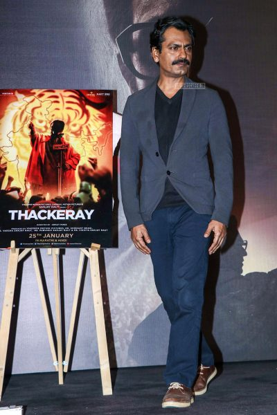 Nawazuddin Siddiqui At The 'Thackeray' Trailer Launch