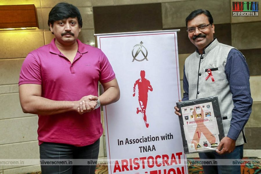 Prashanth At The 'Aristocrat Marathon Chennai March 2019'