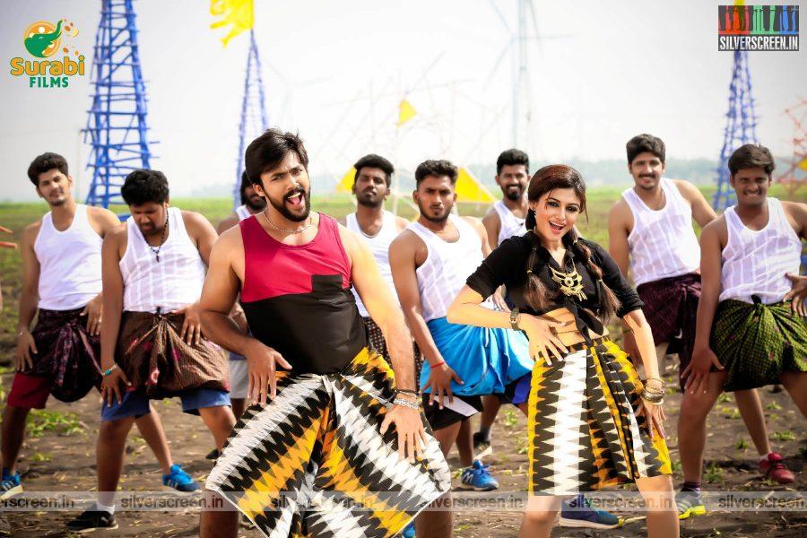 Raja Bheema Movie Stills Starring Aarav, Oviya
