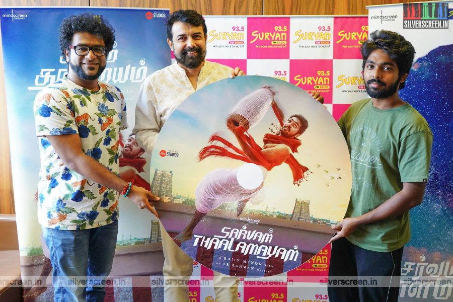 Rajiv Menon, GV Prakash Kumar At The Sarvam Thaala Mayam Single Track Launch