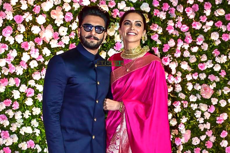 Ranveer Singh, Deepika Padukone At Kapil Sharma & Ginni Chatrath's Wedding Reception
