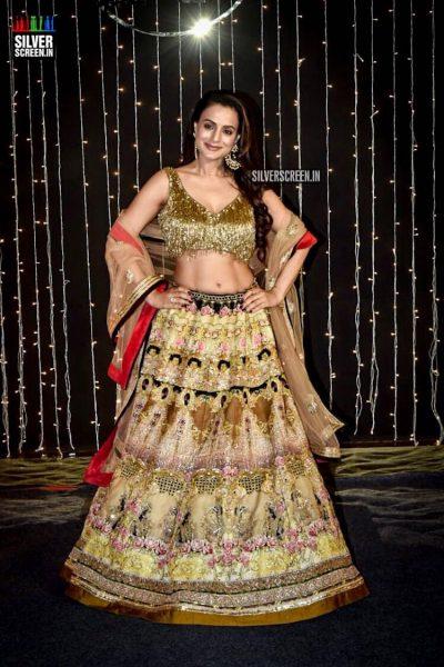 Ameesha Patel At Priyanka Chopra And Nick Jonas Wedding Reception