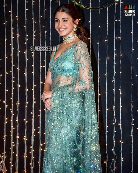 Anushka Sharma At Priyanka Chopra And Nick Jonas Wedding Reception