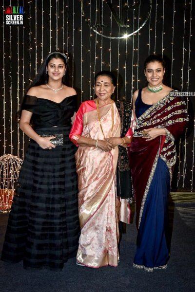 Asha Bhosle, Kajol At Priyanka Chopra And Nick Jonas Wedding Reception