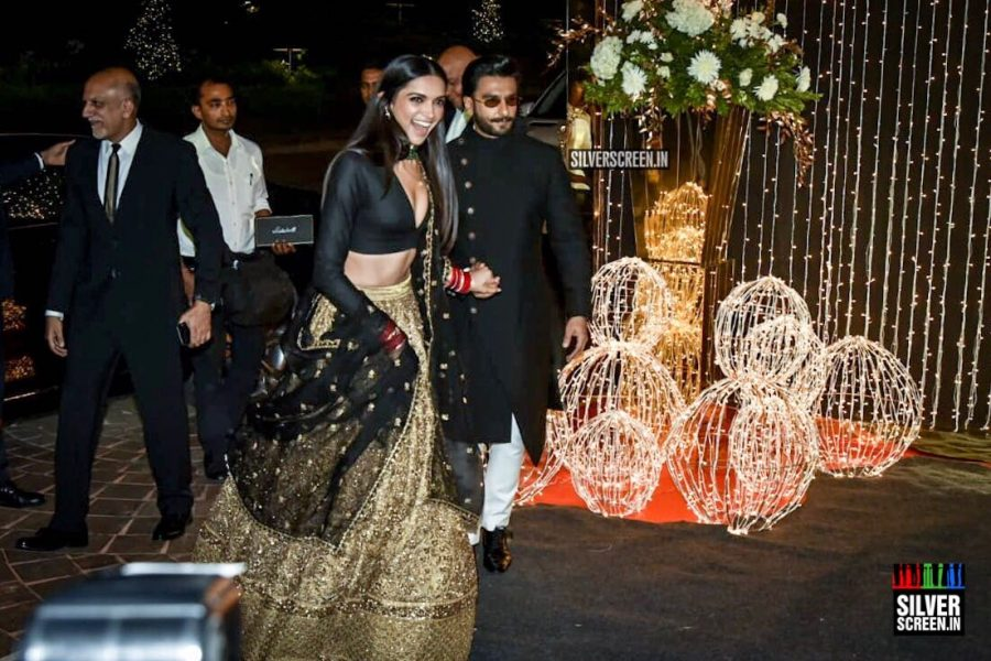 Ranveer Singh, Deepika Padukone At Priyanka Chopra And Nick Jonas Wedding Reception