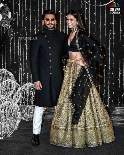 Ranveer Singh, Deepika Padukone At Priyanka Chopra And Nick Jonas Wedding Reception