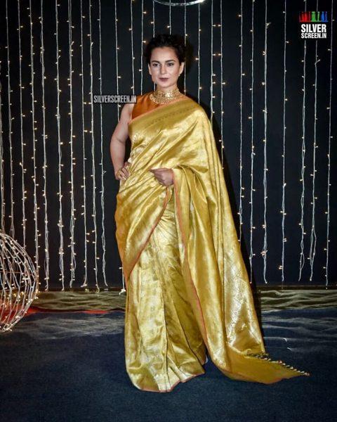 Kangana Ranaut At Priyanka Chopra And Nick Jonas Wedding Reception