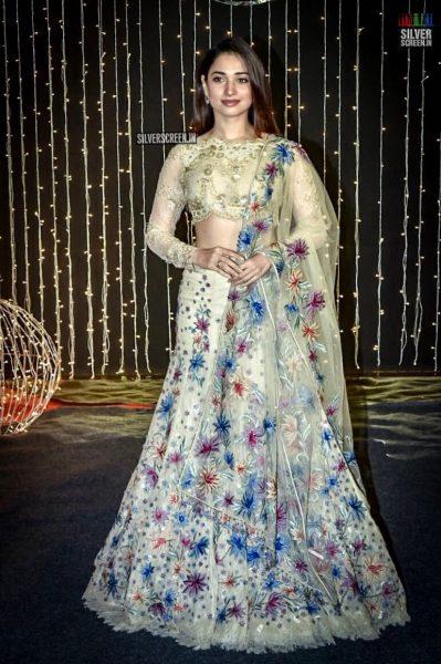 Tamannaah Bhatia At Priyanka Chopra And Nick Jonas Wedding Reception