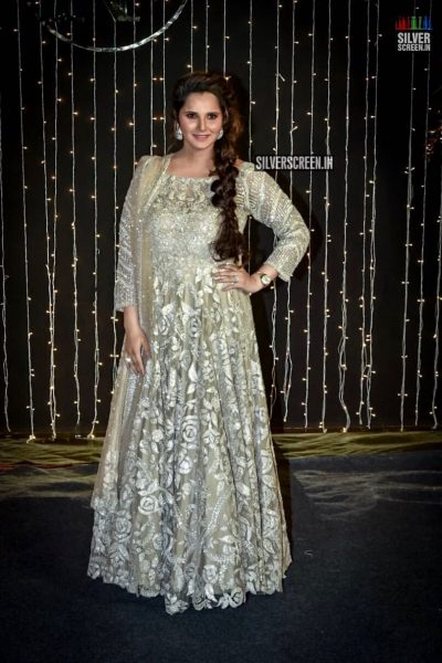 Sania Mirza At Priyanka Chopra And Nick Jonas Wedding Reception