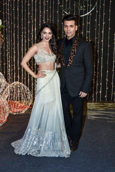 Karan Johar At Priyanka Chopra And Nick Jonas Wedding Reception