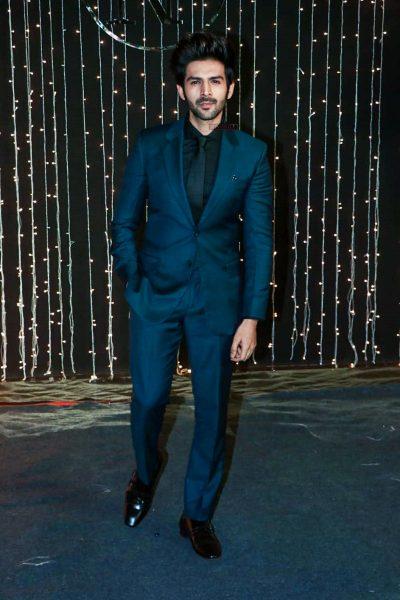 Kartik Aaryan At Priyanka Chopra And Nick Jonas Wedding Reception