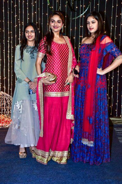 Madhoo At Priyanka Chopra And Nick Jonas Wedding Reception