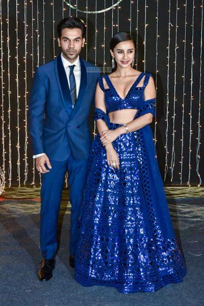 Rajkummar Rao, Patralekha At Priyanka Chopra And Nick Jonas Wedding Reception
