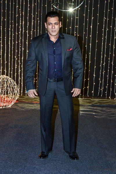 Salman Khan At Priyanka Chopra And Nick Jonas Wedding Reception