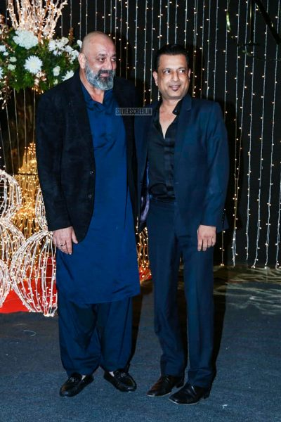 Sanjay Dutt At Priyanka Chopra And Nick Jonas Wedding Reception