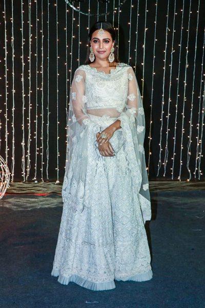 Swara Bhaskar At Priyanka Chopra And Nick Jonas Wedding Reception
