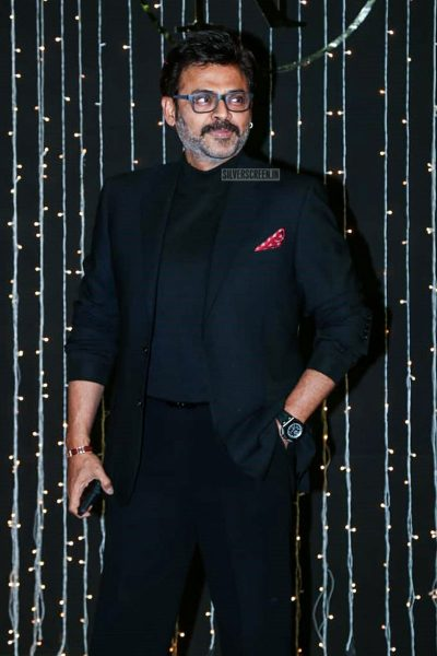 Venkatesh At Priyanka Chopra And Nick Jonas Wedding Reception