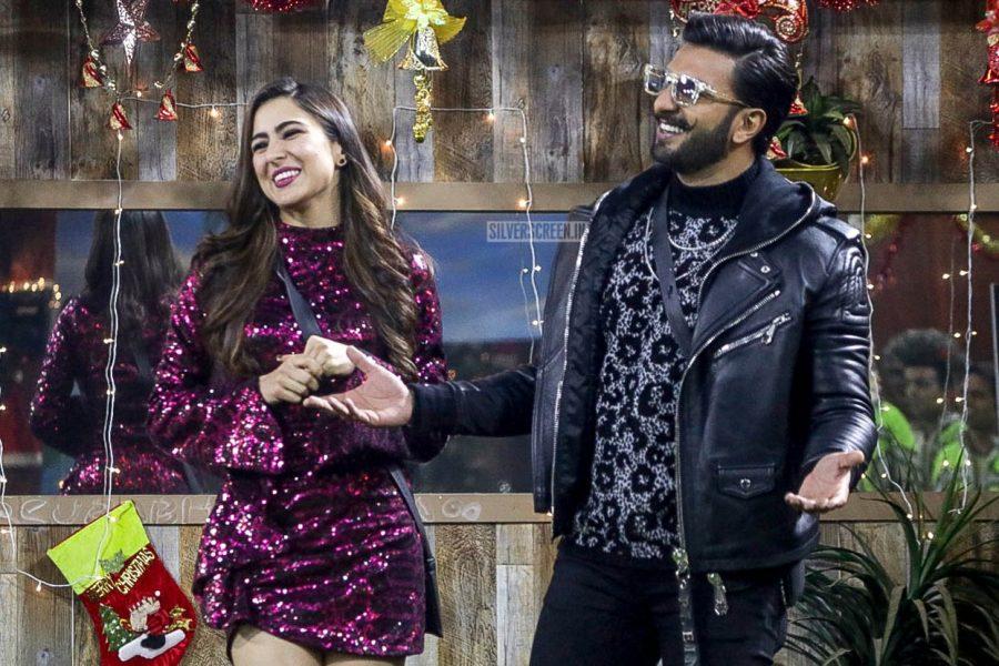 Ranveer Singh, Sara Ali Khan, Promote 'Simmba' On The Sets Of Bigg Boss 12