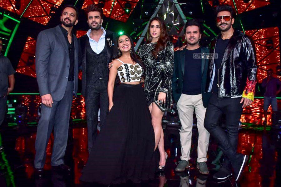 Ranveer Singh, Sara Ali Khan Promote 'Simmba' On The Sets Of Indian Idol