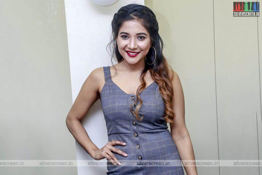 Sakshi Agarwal At A Salon Launch In Chennai